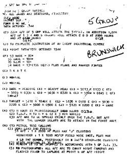 SKATE-Befehl_No.5-Bomber-Group_14._Oktober_1944