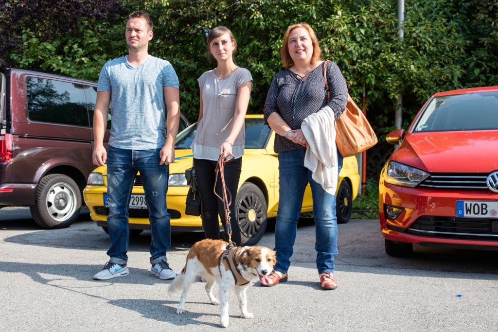 Daryl mit Marcus, Laura und Silke